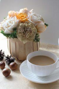 milk tea flower